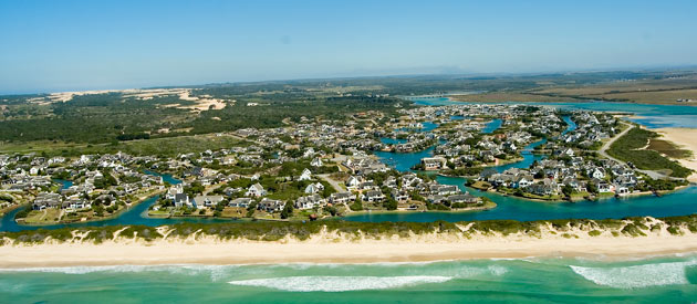 St Francis Bay, in the Eastern Cape province of South Africa.