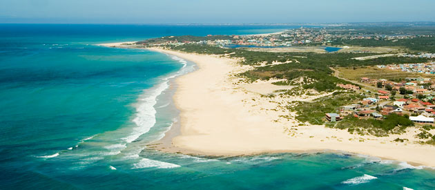 Jeffreys Bay, in the Eastern Cape, South Africa