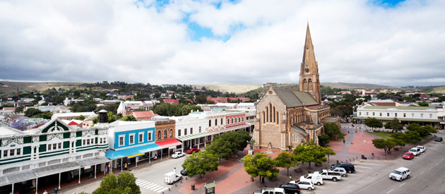 Grahamstown, in the Eastern Cape province of South Africa