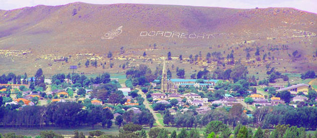 Dordrecht, in the Stormberg region, North West of Queenstown in the Eastern Cape province of South Africa